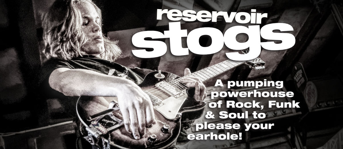 Reservoir Stogs function band for hire in Cornwall